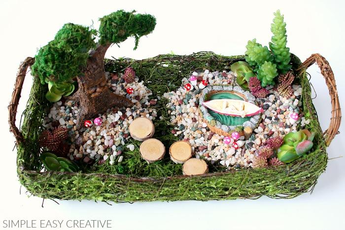 Add Birch Discs for stepping stones to Fairy Garden