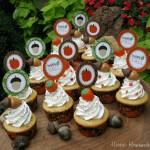 Fall Cupcakes - September 2011