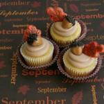 Fall Cupcakes with Acorns - September 2012