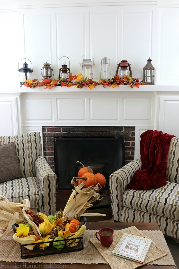 Fall Decorating on a Budget - The colors of Fall are some the most beautiful to decorate your home! Orange - Yellow - Red - Green and more! Keeping the cost down is important too! It's time to get your home ready for Fall with these simple, inexpensive Fall Decorating ideas!