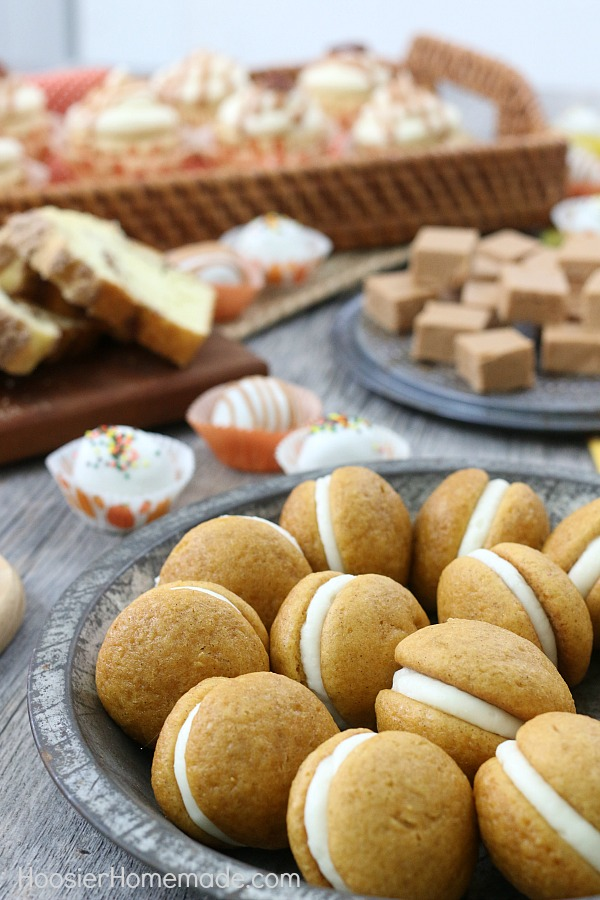 FALL DESSERT TABLE - These quick and easy Fall recipes will have your guests in awe!