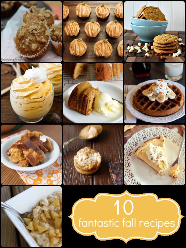 10 Fall Recipes :: HoosierHomemade.com