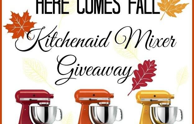 Fall KitchenAid Mixer Giveaway