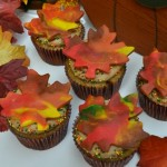 Fall Leaf Cupcakes - September 2012