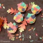 Fall Leaf Cupcakes - September 2011