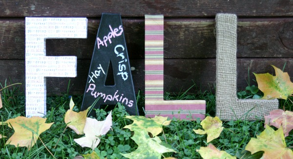 Fall Letters featured