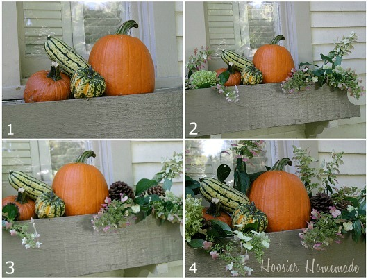 Decorating Fall Window Boxes Hoosier Homemade New Decorating Window Boxes For Fall