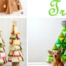 Christmas Tree Ideas – 100 Day of Homemade Holiday Inspiration