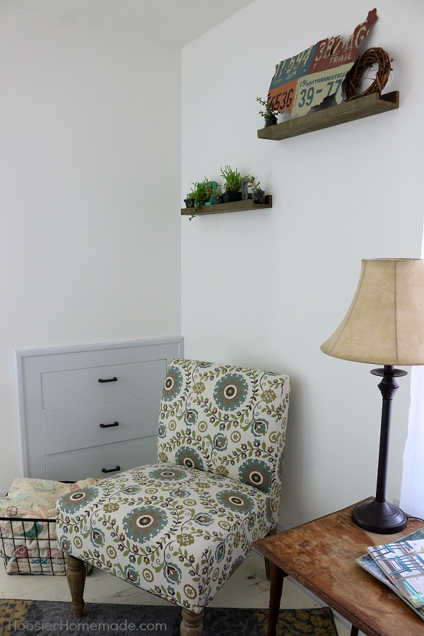 Get the Farmhouse Decor look for a fraction of the cost! Learn how to create the look yourself including a DIY Shiplap Wall for under $40 and a $10 painted brass headboard! Add fun accessories to create the Farmhouse Style Bedroom of your dreams!