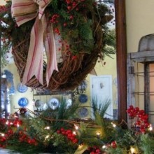 Farmhouse Mantel-feature