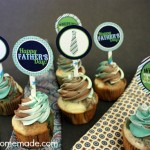 Fathers Day Cupcake Toppers - May 2013
