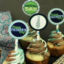 Father's Day Cupcake Toppers.feature