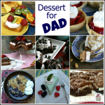Father's Day Cupcakes + Dessert for Dad