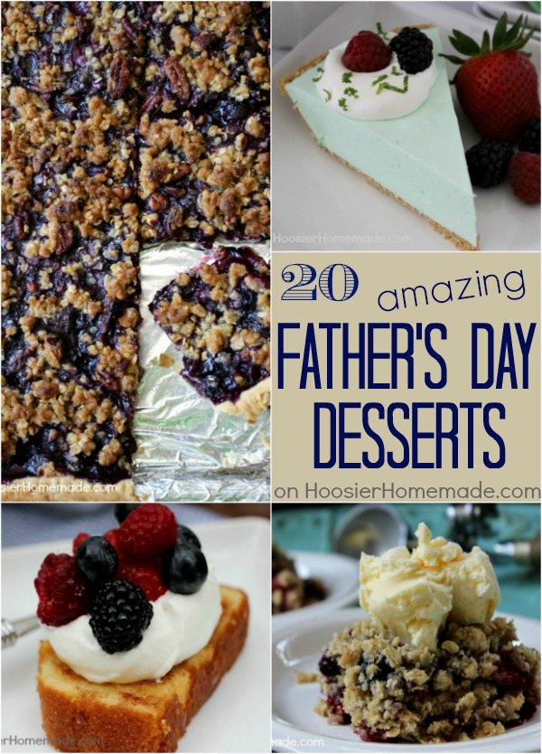 Father's Day Desserts | Recipes on HoosierHomemade.com