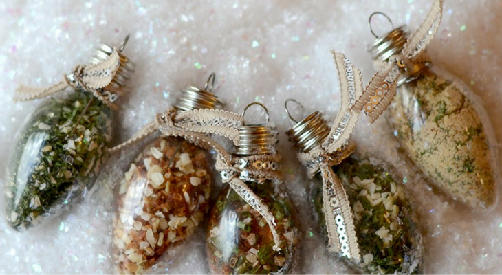 Dip Mix Ornaments – 100 Days of Homemade Holiday Inspiration