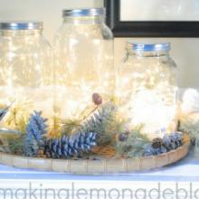 Fairy Light Lanterns – 100 Days of Homemade Holiday Inspiration