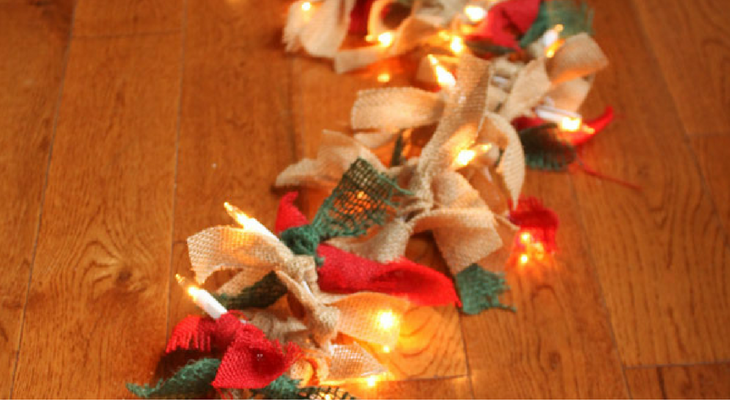Paper Christmas Lights Garland 100 Days Of Homemade