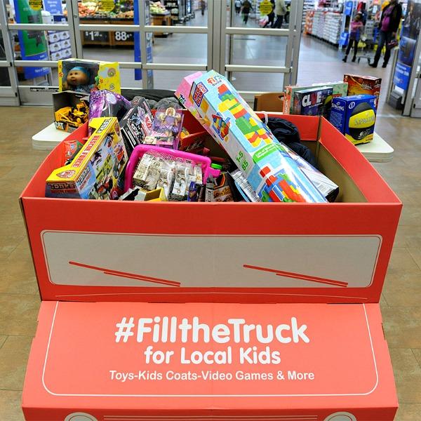 Fill the Truck at Walmart