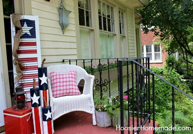 Diy patriotic shutter hoosier homemade diy wooden firecrackers summer front porch decorating on hoosierhomemade solutioingenieria Choice Image