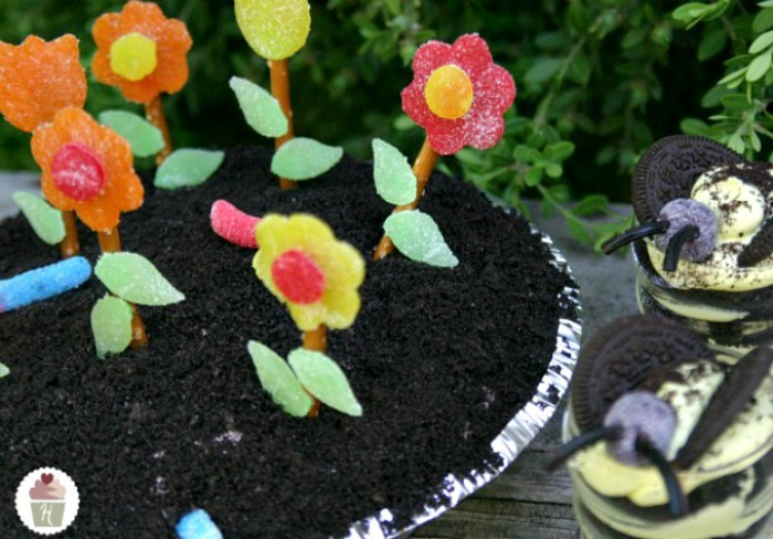 Flower Pot Pie Dessert