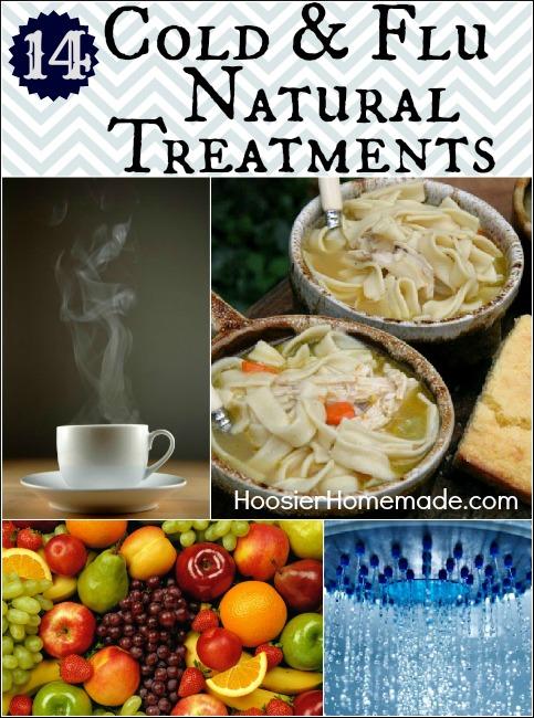 14 Cold & Flu Natural Treatments :: HoosierHomemade.com