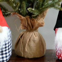 How to Make a Holiday Gnome- 100 Days of Homemade Holiday Inspiration