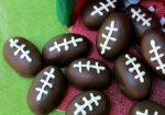 Football Shaped Oreo Truffles