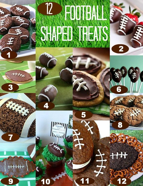 Football Treats And Snacks
