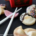 Easy Semi-Homemade Fortune Cookies | Recipe on HoosierHomemade.com