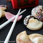 Easy Semi-Homemade Fortune Cookies | Recipe on HoosierHomemade.com