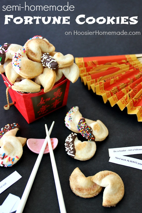 Easy recipes for fortune cookies