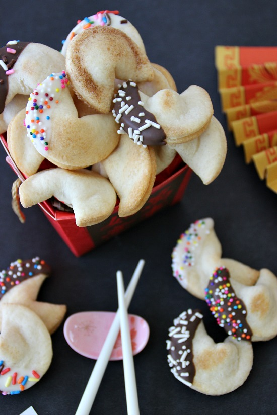 Easy Semi-Homemade Fortune Cookies