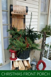 Front Porch Christmas Decorating