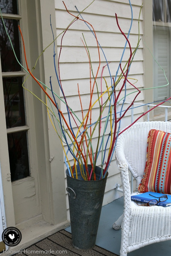 Awesome Transform Twigs Cut From Your Yard Into A Cool Decoration! With Just A Bit  Of