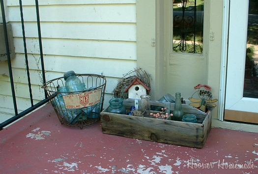 Decorating your front porch hoosier homemade for How to decorate a small front porch