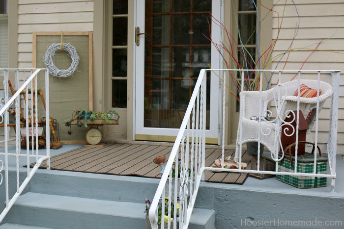 Front Porch Decorating on a Budget