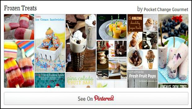Frozen Treats Pinterest Board