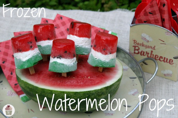 Frozen Watermelon Pops and No-Bake Summer Treats - Hoosier ...