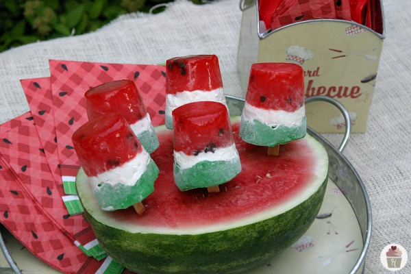 Frozen Watermelon Pops and No-Bake Summer Treats