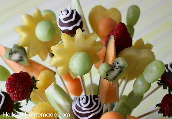 How to make your own Fruit Bouquet