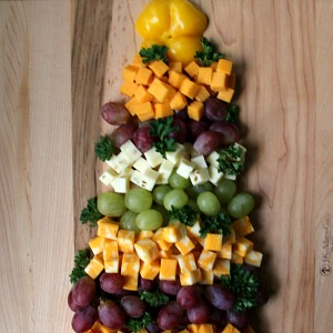 Fruit Cheese Tree :: HoosierHomemade.com