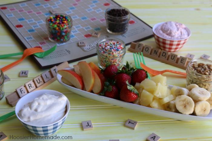 Fruit Dip Fondue