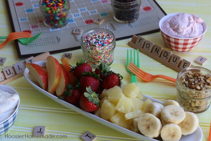 Fruit Dip Recipe with low sugar