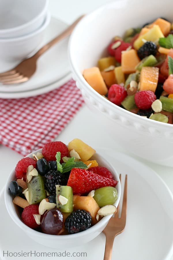 Fruit Salad in bowls