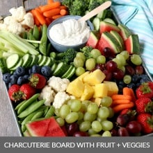 Fruit and Vegetable Tray