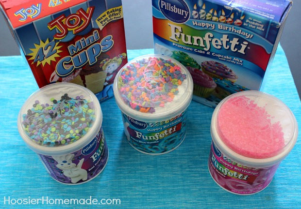 Aqua Blue Funfetti Cake Mix