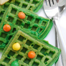 Christmas Tree Waffles – 100 Days of Homemade Holiday Inspiration