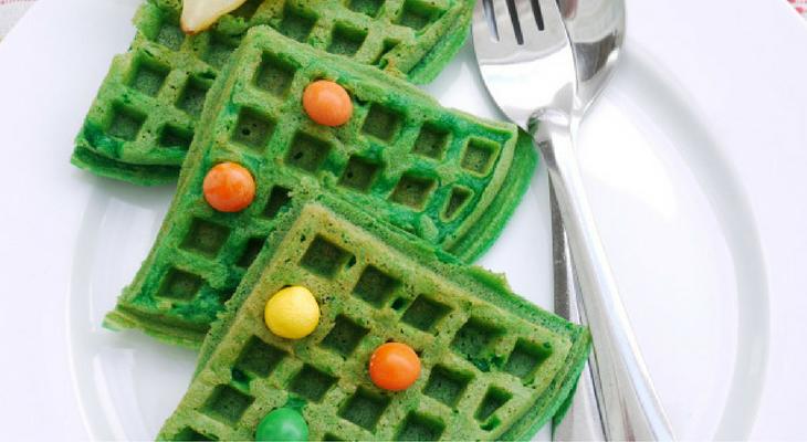 Christmas Tree Waffles – 100 Days of Homemade Holiday Inspiration