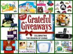Grateful Giveaways: 12 awesome Prizes