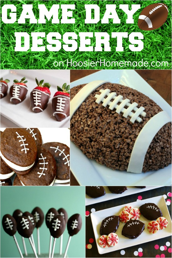 Game Day Desserts | Recipes on HoosierHomemade.com